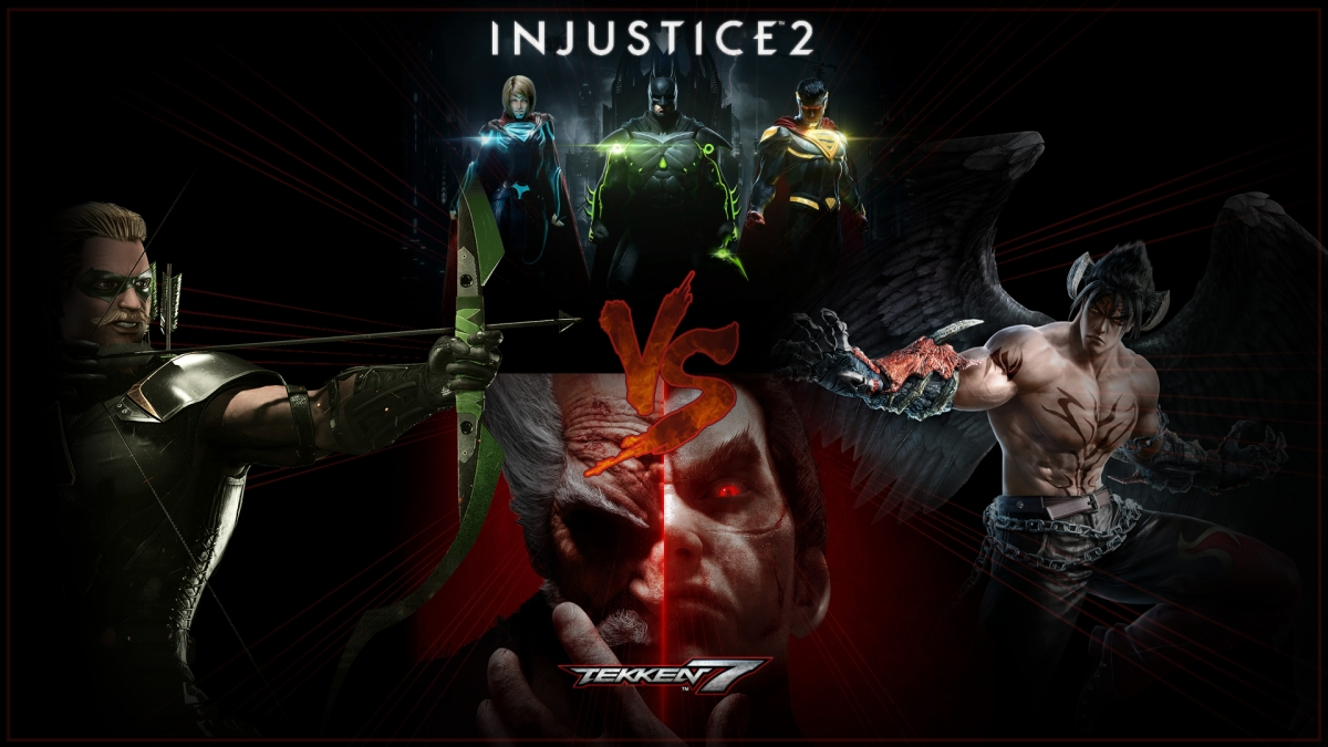 Injustice 2 VS Tekken 7